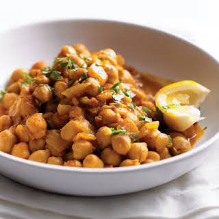 Quick Chickpea Curry.