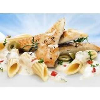 Creamy PHILADELPHIA Penne Pasta with Chicken.
