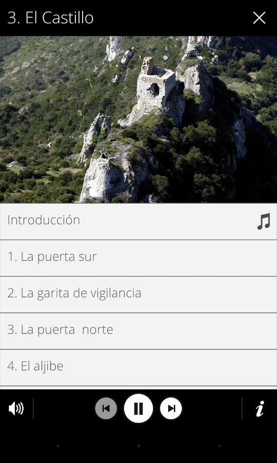 Audioguía Portilla Audiogida- screenshot