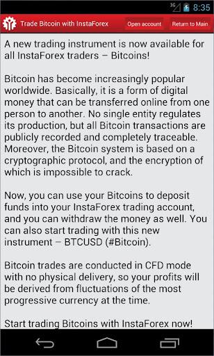 玩免費財經APP|下載InstaForex Bitcoin app不用錢|硬是要APP