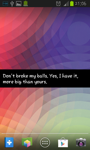 Insults - Crazy Screen Free