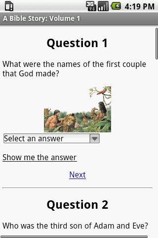 iBible Story: Volume 3 - screenshot