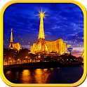 Eiffel Tower at Night HD LWP icon