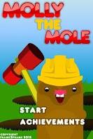 Screenshot of molly the mole demo