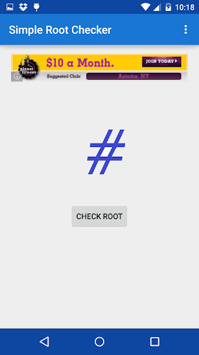 Simple Root Checker