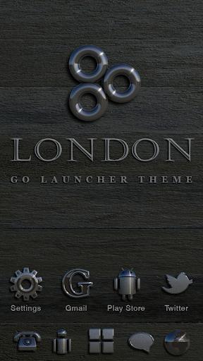 London GO Launcher Theme