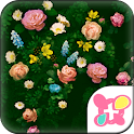 Cute Theme-Roses in Bloom- icon