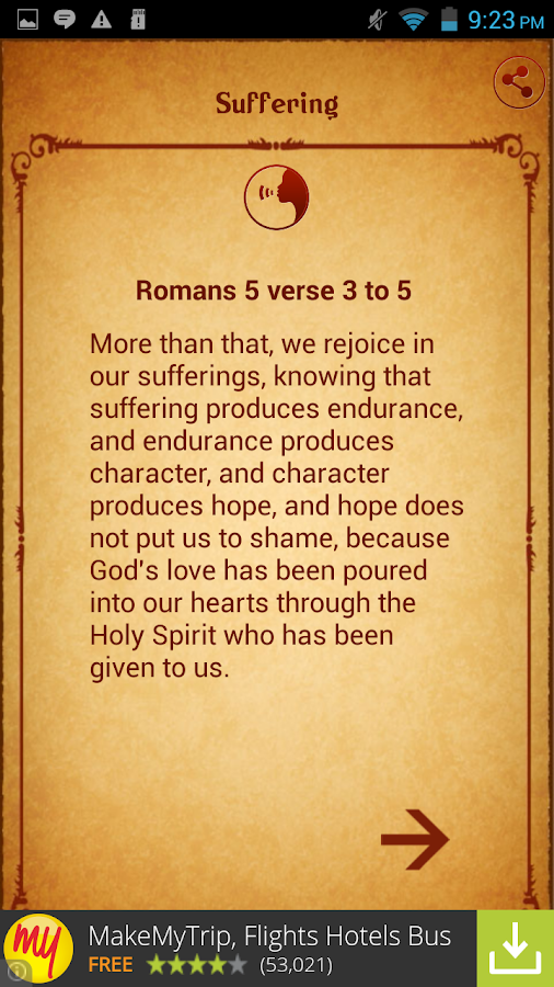 Bible Faith Quotes - screenshot