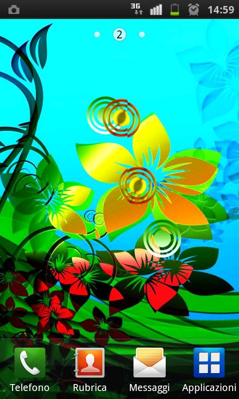 Colorful Flowers HD HD LIVE L - screenshot