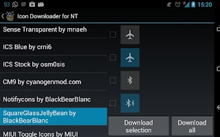 Screenshot of Icon Downloader for NT