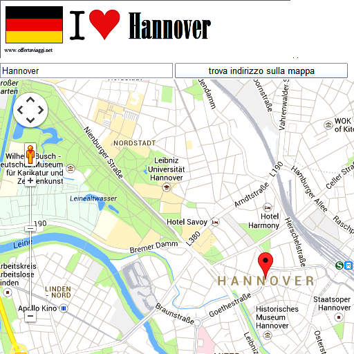 Hannover maps