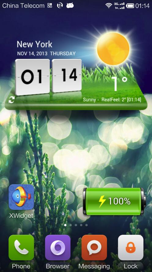XWidget- screenshot