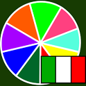 Colors in italian icon