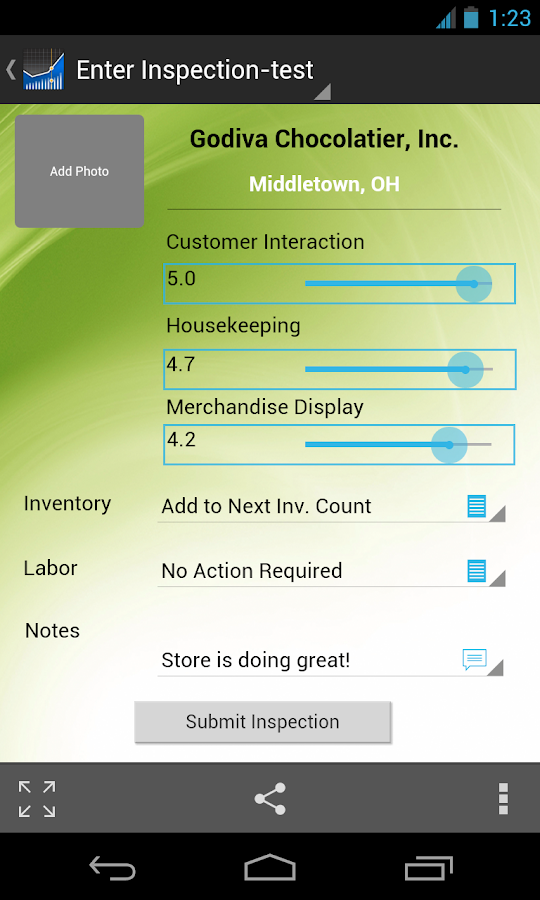 MicroStrategy Mobile - screenshot