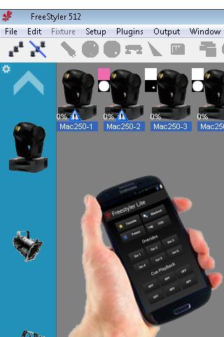 Freestyler Dmx Remote WIFI