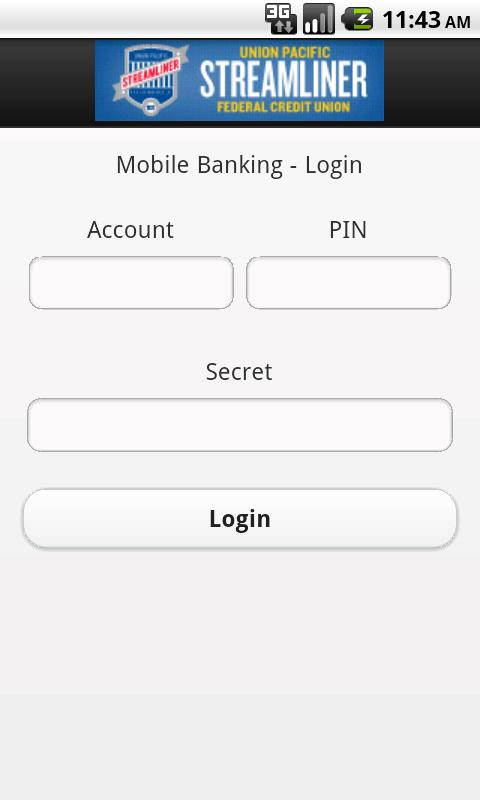 UPSFCU Mobile Banking- screenshot