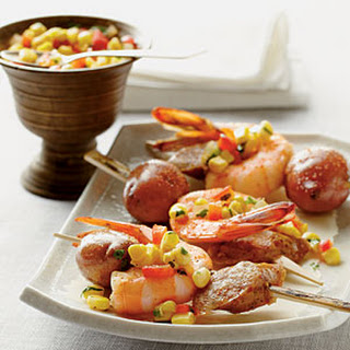 Shrimp Boil Skewers