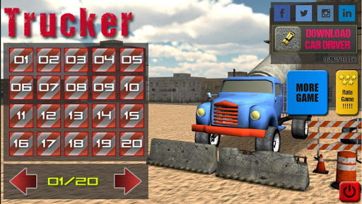 【免費街機App】Trucker 1-APP點子