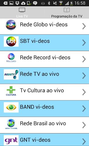 TV Live HD Gràtis Brazil