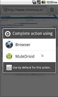 MuleDroid - screenshot thumbnail