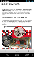 Screenshot of Mechanical Engineering Mag