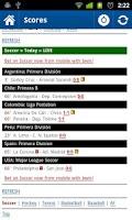 Screenshot of Sports Eye - Soccer