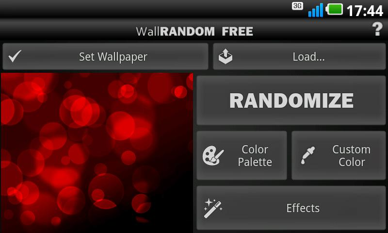 WallRANDOM - Wallpaper Editor - screenshot