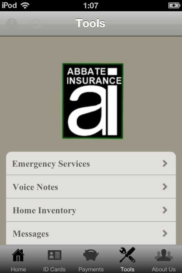 Abbate Insurance- screenshot