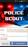 Screenshot of Police Scout