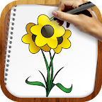 Draw Exotic Flowers