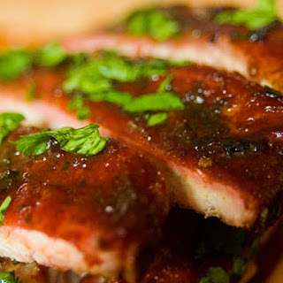 Cherry-Smoked Vietnamese-Flavored Ribs