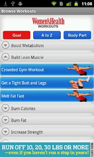 Women's Health Workouts Lite - screenshot thumbnail