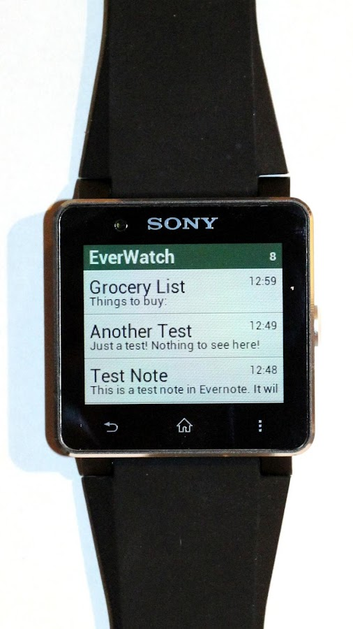 EverWatch (for Evernote) - screenshot