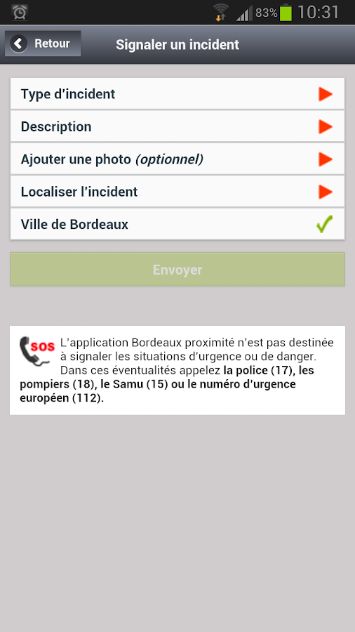 Application android rencontre proximite