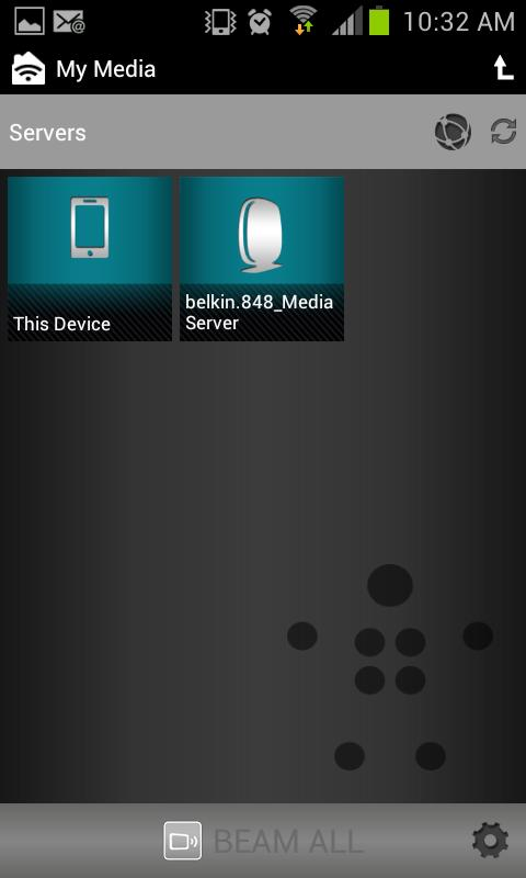 Belkin MediaPlay- screenshot