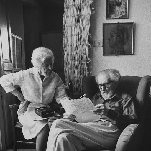 Ezra Pound & Olga Rudge - David Lees — Google Arts & Culture