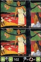 Screenshot of Gauguin/Paranoid Differences