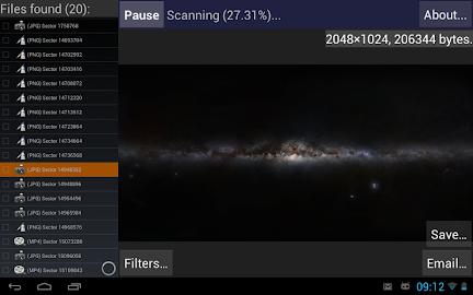 DiskDigger photo recovery Screenshot 18