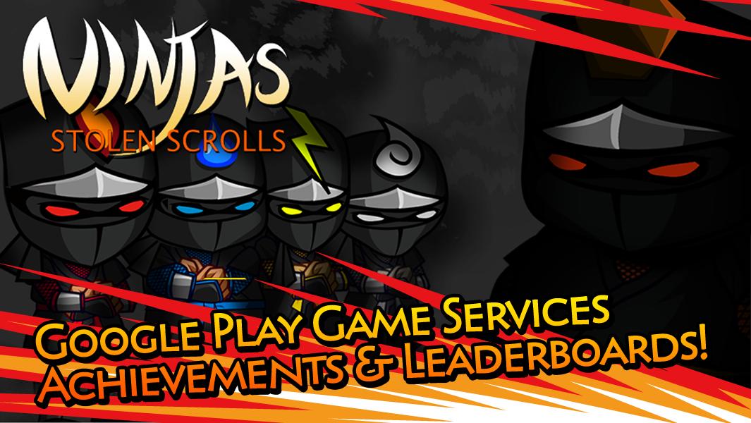Ninjas - STOLEN SCROLLS - screenshot