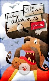 Jeu de différences : pirates– Vignette de la capture d'écran