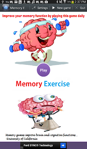 Memory Exercise
