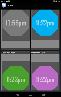 Octy for Zooper Widget Pro - screenshot thumbnail