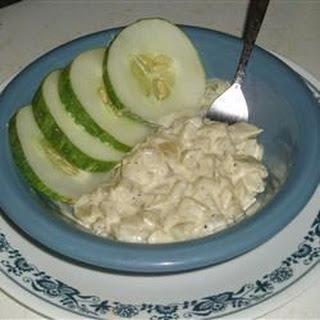 Creamy Buttered Cucumbers
