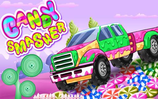糖果加速器山赛车
