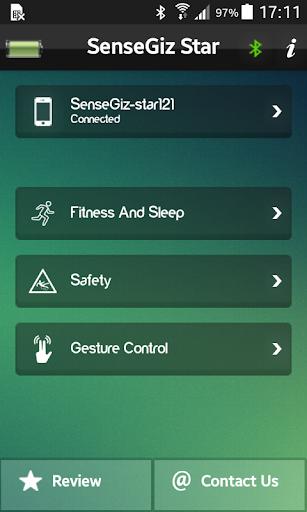 Star:Safety+fitness tracker