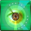 Eye retina test icon