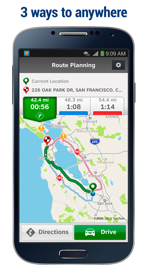 AT&T Navigator: Maps, Traffic - screenshot