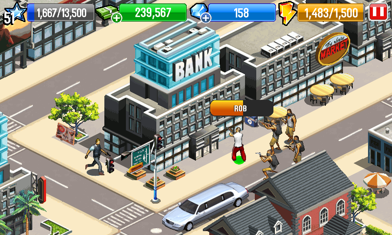 Gangstar City - screenshot