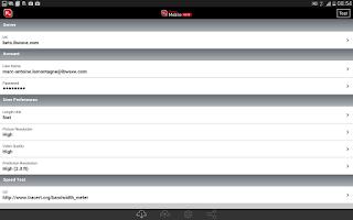 Screenshot of iBwave Mobile Note