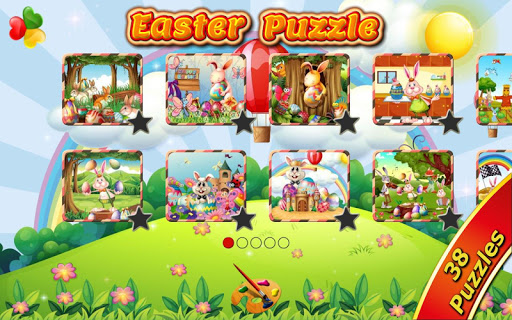 Easter Games for Kids: Puzzles